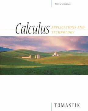 Calculus: Applications and Technology, 3rd Edition – PDF ebook