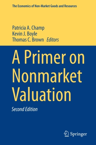(PDF ebook) – A Primer on Nonmarket Valuation 2nd Edition