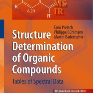 (PDF ebook) – Structure Determination of Organic Compounds, 4th Edition: Tables of Spectral Data