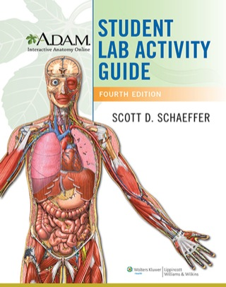 (PDF ebook) A.D.A,M. Interactive Anatomy Online Student Lab Activity Guide, 4th Edition