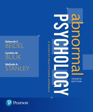 (PDF ebook) Abnormal Psychology: A Scientist-Practitioner Approach, 4th Edition