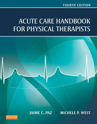 (PDF ebook) Acute Care Handbook for Physical Therapists, 4th Edition