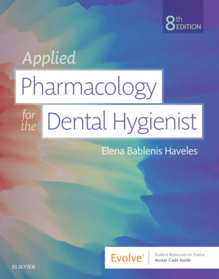 (PDF ebook) Applied Pharmacology for the Dental Hygienist, 8th Edition