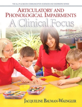 (PDF ebook) Articulatory and Phonological Impairments: A Clinical Focus, 4th Edition