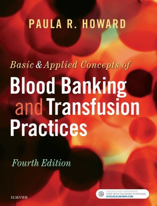 (PDF ebook) Basic & Applied Concepts of Blood Banking and Transfusion Practices, 4th Edition