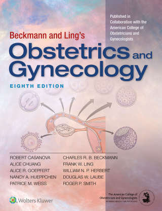 (PDF ebook) Beckmann and Ling's Obstetrics and Gynecology, 8th Edition