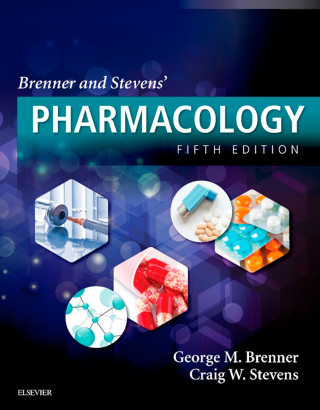 (PDF ebook) Brenner and Stevens' Pharmacology, 5th Edition