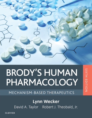 (PDF ebook) Brody's Human Pharmacology, 6th Edition