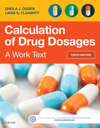 (PDF ebook) Calculation of Drug Dosages: A Work Text, 10th Edition