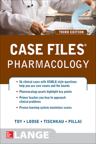 (PDF ebook) Case Files Pharmacology, 3rd Edition