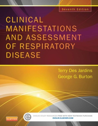 (PDF ebook) Clinical Manifestations and Assessment of Respiratory Disease, 7th Edition