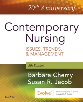 (PDF ebook) Contemporary Nursing: Issues, Trends, & Management, 8th Edition