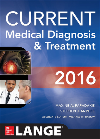 (PDF ebook) CURRENT Medical Diagnosis and Treatment 2016, 55th Edition