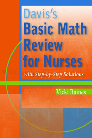 (PDF ebook) Davis's Basic Math Review for Nurses with Step-by-Step Solutions, 1st Edition