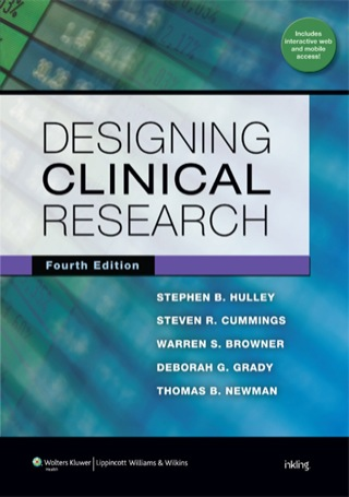 (PDF ebook) Designing Clinical Research, 4th Edition