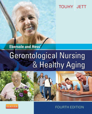 (PDF ebook) Ebersole and Hess' Gerontological Nursing & Healthy Aging, 4th Edition