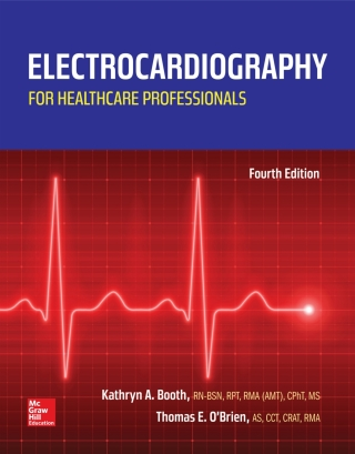 (PDF ebook) Electrocardiography for Healthcare Professionals, 4th Edition