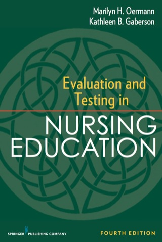 (PDF ebook) Evaluation and Testing in Nursing Education, 4th Edition