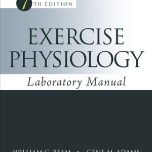 (PDF ebook) Exercise Physiology Laboratory Manual, 7th Edition