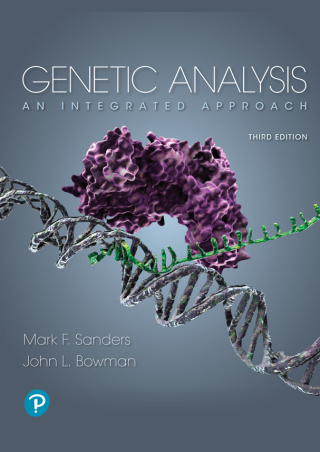 (PDF ebook) Genetic Analysis: An Integrated Approach, 3rd Edition