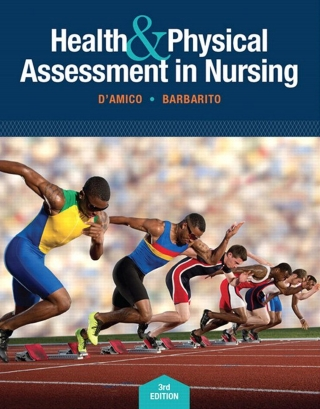 (PDF ebook) Health & Physical Assessment in Nursing, 3rd Edition