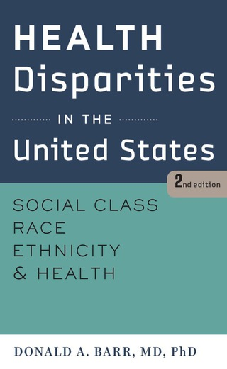 (PDF ebook) Health Disparities in the United States, 2nd Edition