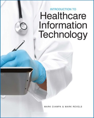(PDF ebook) Introduction to Healthcare Information Technology, 1st Edition