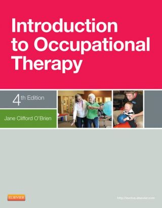 (PDF ebook) Introduction to Occupational Therapy, 4th Edition