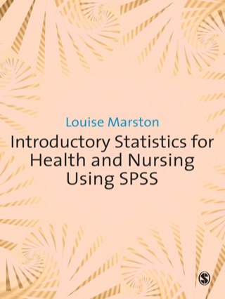(PDF ebook) Introductory Statistics for Health and Nursing Using SPSS, 1st Edition