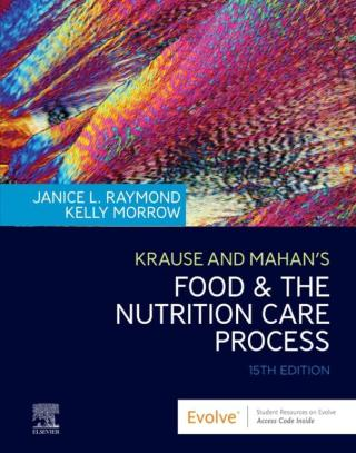 (PDF ebook) Krause and Mahan's Food & the Nutrition Care Process, 15th Edition