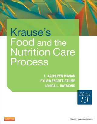 (PDF ebook) Krause's Food & the Nutrition Care Process, 13th Edition