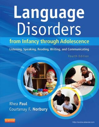 (PDF ebook) Language Disorders from Infancy Through Adolescence: Listening, Speaking, Reading, Writing, and Communicating, 4th Edition