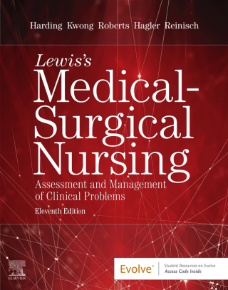 (PDF ebook) Lewis's Medical-Surgical Nursing: Assessment and Management of Clinical Problems, Single Volume, 11th Edition
