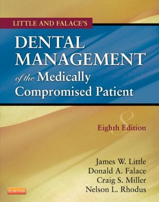 (PDF ebook) Little and Falace's Dental Management of the Medically Compromised Patient, 8th Edition