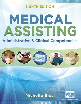 (PDF ebook) Medical Assisting: Administrative and Clinical Competencies, 8th Edition