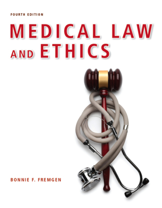 (PDF ebook) Medical Law and Ethics, 4th Edition