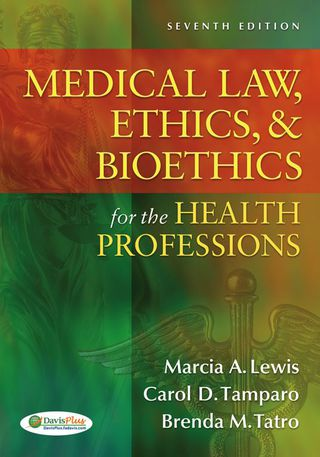 (PDF ebook) Medical Law, Ethics, & Bioethics for the Health Professions, 7th Edition