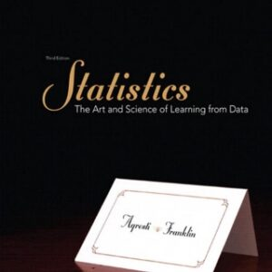 Statistics: The Art and Science of Learning from Data, 3rd Edition – PDF ebook