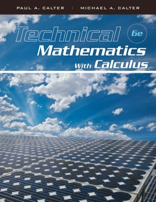 Technical Mathematics with Calculus, 6th Edition – PDF ebook