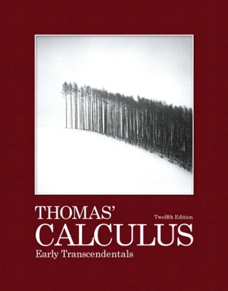 Thomas' Calculus: Early Transcendentals, 12th Edition – PDF ebook