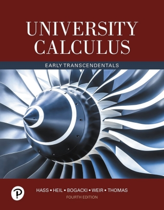 University Calculus, Early Transcendentals, 4th Edition – PDF ebook