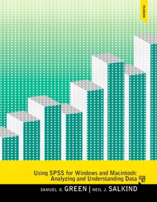 Using SPSS for Windows and macAnalyzing and Understanding Data, 7th Edition – PDF ebook