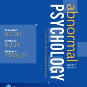 Abnormal Psychology: A Scientist-Practitioner Approach, 4th Edition – PDF ebook