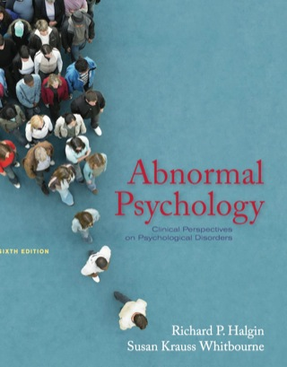 Abnormal Psychology: Clinical Perspectives on Psychological Disorders, 6th Edition – PDF ebook