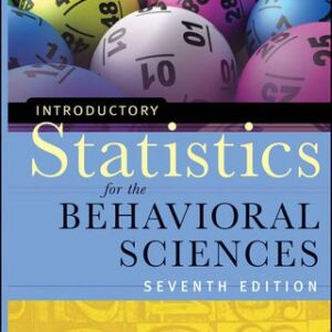 Introductory Statistics for the Behavioral Sciences, 7th Edition – PDF ebook
