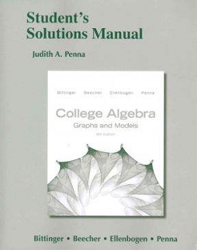 Student's Solutions Manual for College Algebra, 5th Edition – PDF ebook