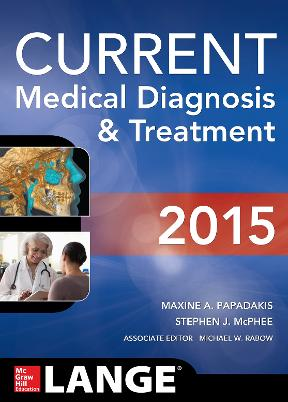 (PDF ebook) CURRENT Medical Diagnosis and Treatment 2015, 54th Edition