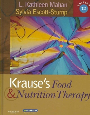 (PDF ebook) Krause's Food & Nutrition Therapy, 12th Edition