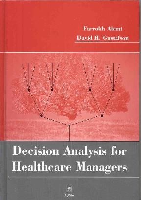 (PDF ebook) Decision Analysis for Healthcare Managers, 1st Edition