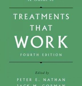 A Guide to Treatments That Work, 4th Edition – PDF ebook